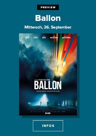 26.09. - Preview: Ballon