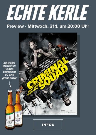 """Echte Kerle Preview von """"Criminal Squad """""""