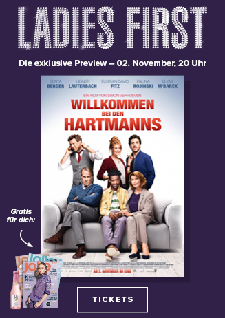 LADIES FIRST PREVIEW: Willkommen bei den Hartmanns
