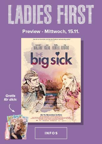 15.11. - Ladies First: The Big Sick