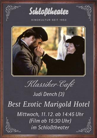 Klassiker-Café: BEST EXOTIC MARIGOLD HOTEL