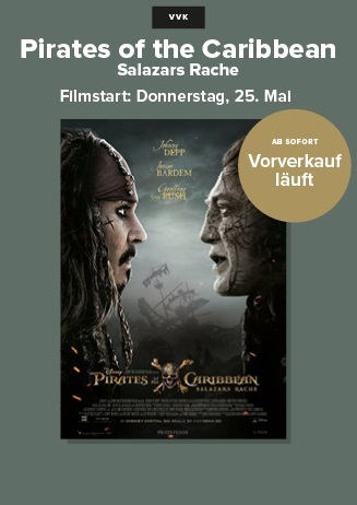 VVK - Pirates of the Caribbean: Salazars Rache 3D
