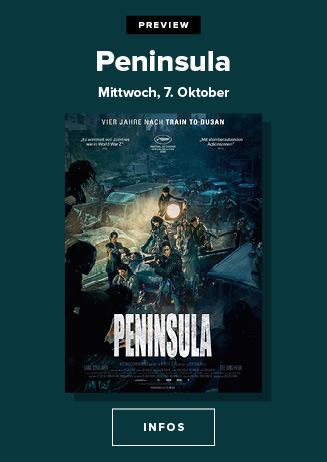 Preview am 07.10.2020: Peninsula