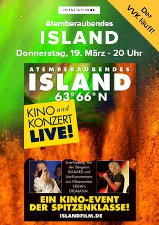 """200319 Special """"Atemberaubendes Island"""""""