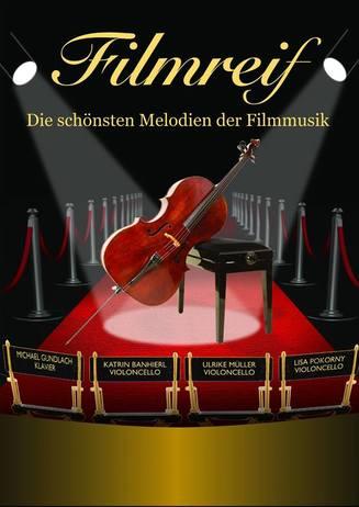FILMREIF - Filmmusik  LIVE im Goslarer Theater am 23.02.2019