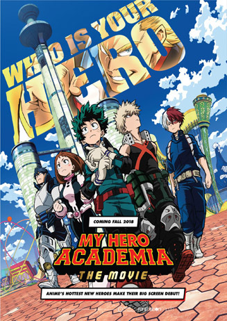 ANIME NIGHT: My Hero Academia - Two Heroes