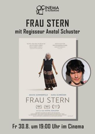 FRAU STERN mit RegisseurAnatol Schuster