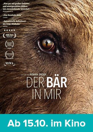 """201021 Filmstart """"Der Bär in mir"""""""