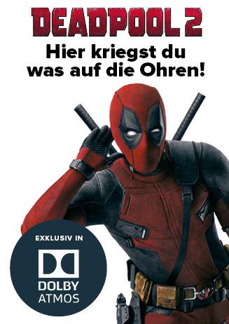 Deadpool 2 in Dolby Atmos®