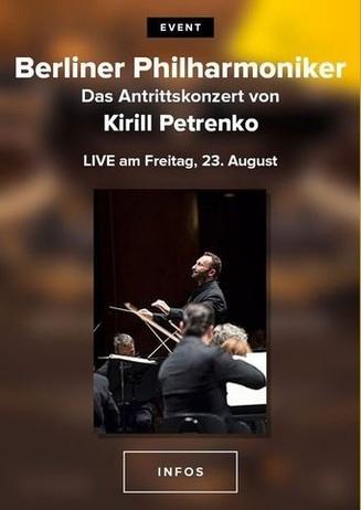 Die Berliner Philharmoniker live in Ihrem Cineplex