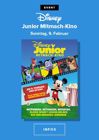 Disney Junior Mitmachkino am 09.02.2020