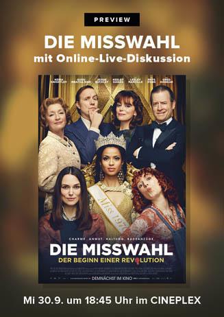 Preview: DIE MISSWAHL mit Online-Panel
