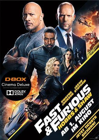 "VVK läuft! - ""Fast & Furious: Hobbs & Shaw"""