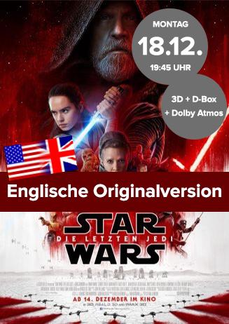 Englische Originalversion: Star Wars: Die letzten Jedi
