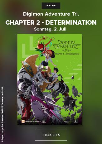Anime Night 2017: Digimon Adventure Tri.-Chapter 2: Determination