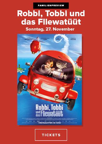 Familien-Preview: Robbi Tobbi und das Fliwatüüt