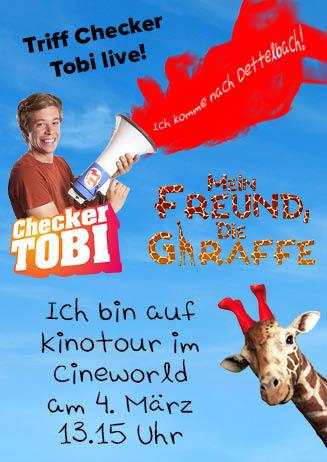 """180304 Checker Tobi """"Mein Freund, die Giraffe"""""""