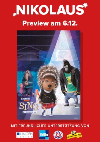 Nikolaus-Preview: SING