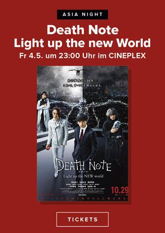 Asia Night: Death Note - Light up the new World