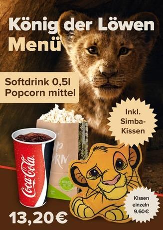 Aktions-Menü König der Löwen