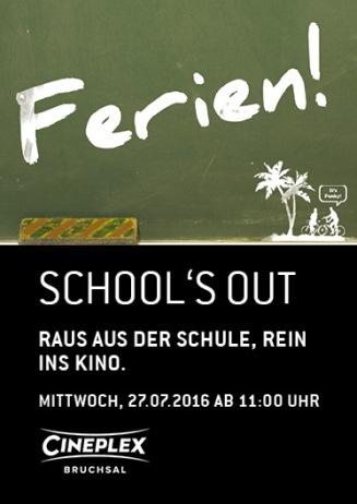 SCHOOL'S OUT-Aktion