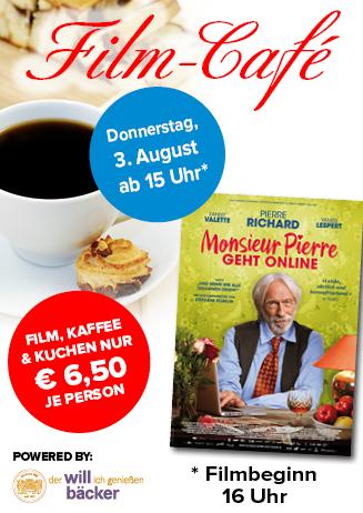 """170803 Film-Café """"Monsieur Pierre geht online"""""""