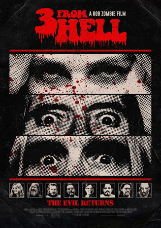 """Rob Zombie - """"3 From Hell"""""""