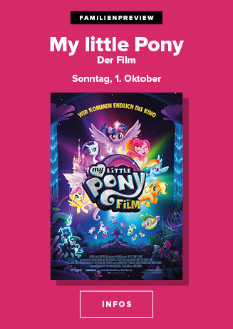 Familien-Preview mit My little Pony