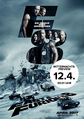 Mitternachts-Preview: Fast & Furious 8