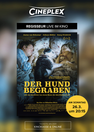 """Live im Kino """"Der Hund begraben"""""""