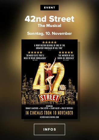 42nd Street - The Musical - am 17.11.2019