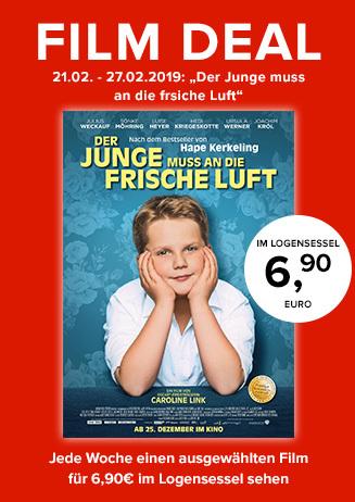 """Film Deal: """"Der Junge muss an die frische Luft"""""""