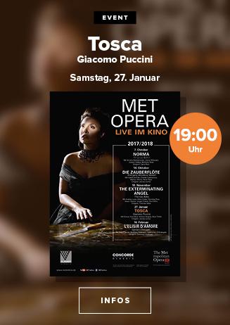 MET Opera: Tosca (Puccini)