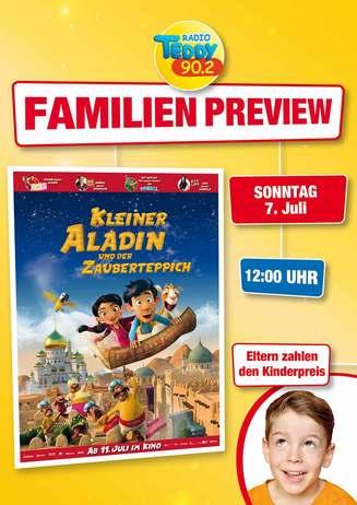 Kleiner Aladdin und der Zauberteppich