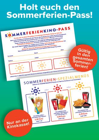 Der Sommerferienkino-Pass