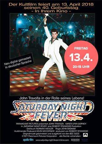 40 Jahre - Saturday Night Fever