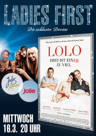 Ladies First: Lolo - Drei sind einer zuviel
