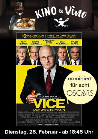 Kino & Vino: VICE