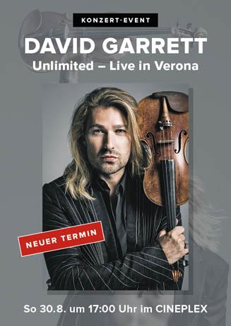 David Garrett: Unlimited – Live in Verona