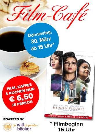"""170330 Film-Café """"Hidden Figures - Unerkannte Heldinnen"""""""