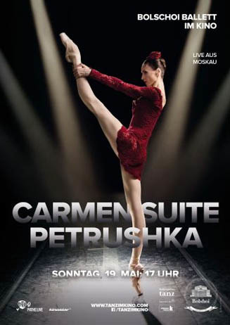 Bolschoi Ballett: CARMEN / PETRUSCHKA