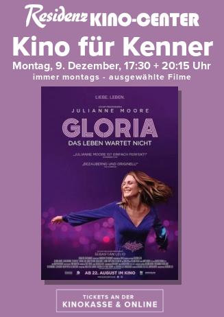 Kino für Kenner: GLORIA - DAS LEBEN WARTET NICHT