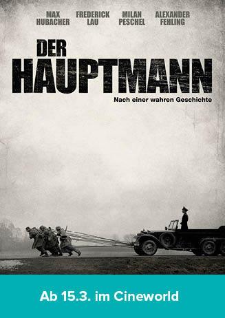"""180321 Filmstart """"Der Hauptmann"""""""