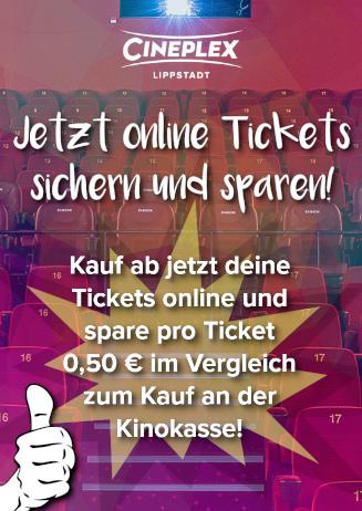 Onlinetickets günstiger