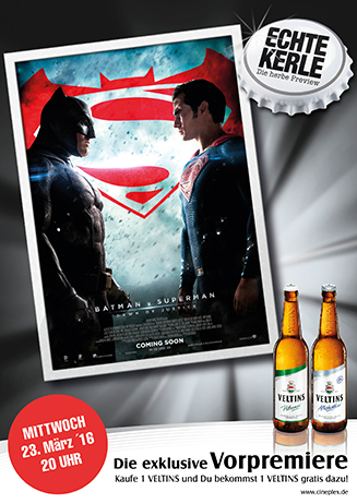 Echte Kerle BATMAN V SUPERMAN