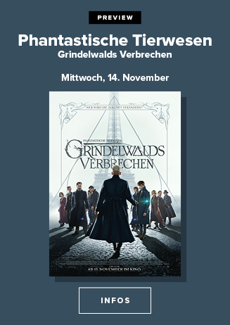 Preview: Phantastische Tierwesen - Grindelwalds Verbrechen