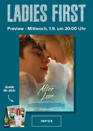 Ladies First am 01.09.2020 um 20 Uhr: After Love