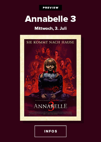 Preview: Annabelle 3 3.7.19