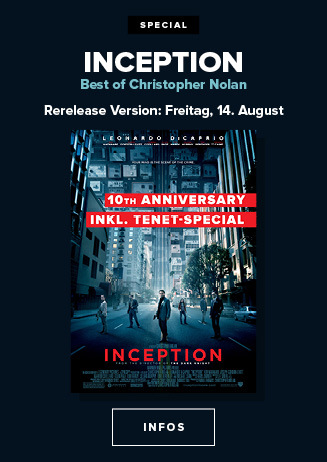 Inception - 10th Anniversary inkl. Tenet Special