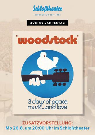 WOODSTOCK zum 50. Jubiläum